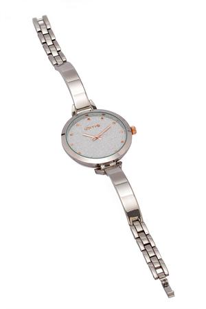 Ρολόι Loftys Elegant με ασημί μπρασελέ και καντράν Y2010-11