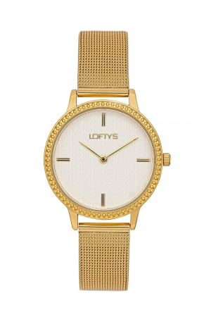 LOFTY'S Cassiopi Crystals Gold Stainless Steel Bracelet Y2014-9