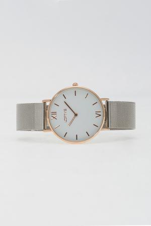 LOFTY'S Vintage Silver Mesh Stainless Steel Bracelet