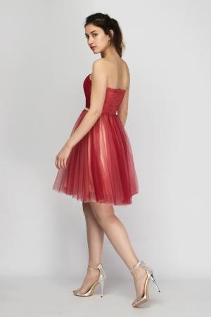 Strapless Special Occasion Mini Dress