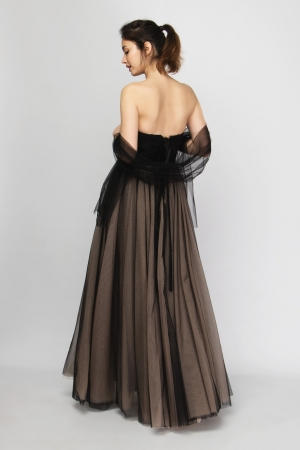 Strapless Special Occasion Maxi Dress