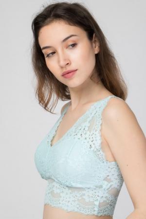 COZY Lace Crop Top