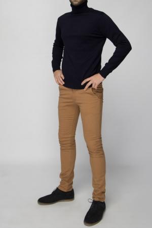 Tan Chino Trouser - Skinny Fit