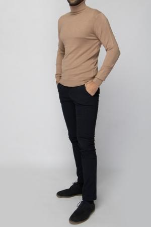 COZY Camel Turtleneck Sweater