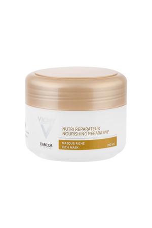 Vichy Dercos Nutri Reparateur Hair Mask 200ml (Damaged Hair - Dry Hair)