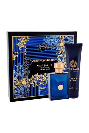 Versace Pour Homme Dylan Blue Eau De Toilette 100ml Combo: Edt 100 Ml + Shower Gel 150 Ml