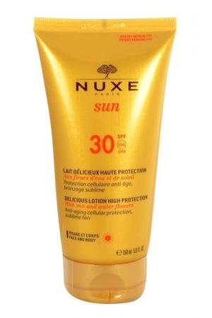 Nuxe Sun Delicious Lotion High Protection SPF30 150ml