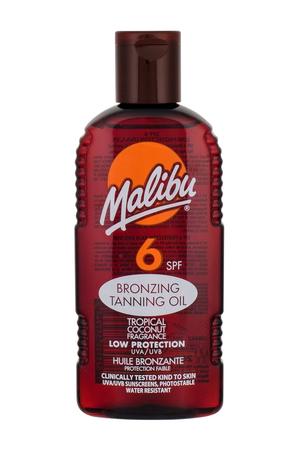 Malibu Bronzing Tanning Oil Sun Body Lotion 200ml Spf6