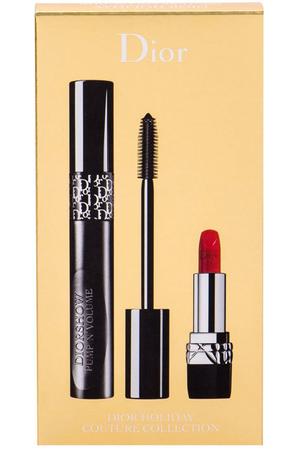 Christian Dior Diorshow Pump´N´Volume Mascara 090 Black Pump 6gr Combo: Mascara 6 G + Lip Stick Mini Rouge 999 1,5 G