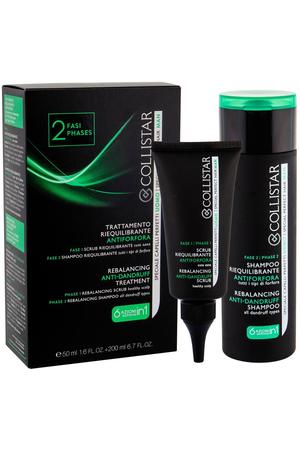 Collistar Men Anti-Dandruff Anti Dandruff 50ml Combo: Head Skin Peeling 50 Ml + Shampoo 200 Ml