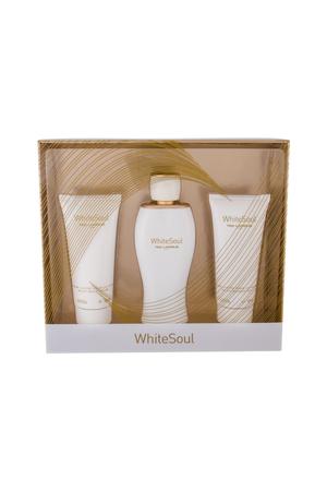 Ted Lapidus White Soul Eau De Parfum 3 Pcs Set Eau De Parfum 100ml + Body Cream 100ml + Shower Gel 100ml