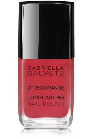 Gabriella Salvete Longlasting Enamel Nail Polish 27 Red Orange 11ml