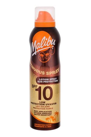Malibu Continuous Spray Sun Body Lotion 175ml Waterproof Spf10