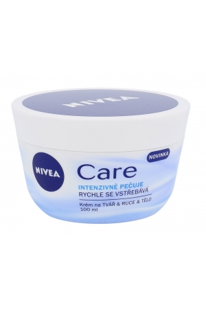 Nivea Care Day Cream 100ml (All Skin Types - For All Ages)