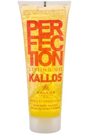 Kallos Cosmetics Perfection Extra Strong Hair Gel 250ml (Strong Fixation)