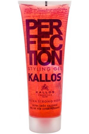 Kallos Cosmetics Perfection Ultra Strong Hair Gel 250ml (Extra Strong Fixation)