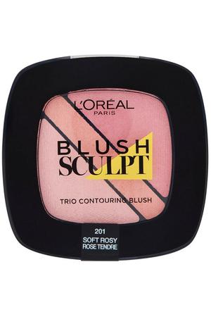L´oréal Paris Blush Sculpt Trio Blush 201 Soft Rosy 4gr
