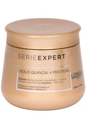 L´oréal Professionnel Série Expert Absolut Repair Gold Quinoa + Protein Hair Mask 250ml (Damaged Hair)