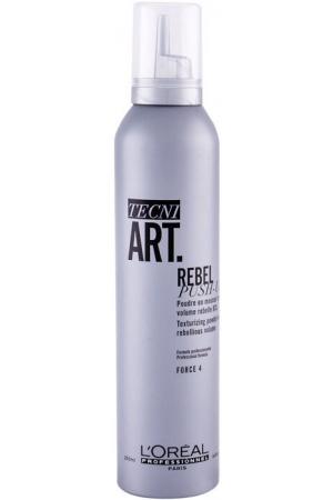 L´oréal Professionnel Tecni.Art Rebel Push-Up Hair Mousse 250ml (Strong Fixation)