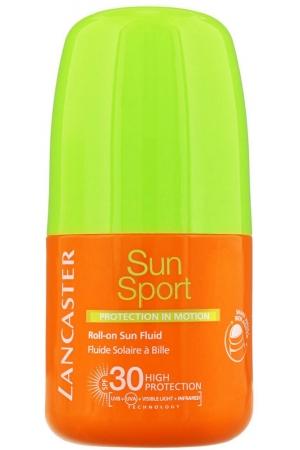 Lancaster Sun Sport Roll-On Sun Fluid SPF30 Face Sun Care 50ml (Waterproof)