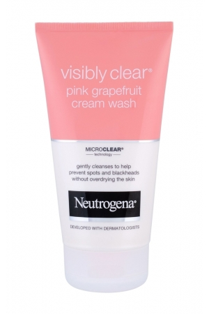 Neutrogena Visibly Clear Pink Grapefruit Cleansing Cream 150ml (All Skin Types)
