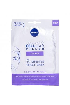 Nivea Hyaluron Cellular Filler 10 Minutes Sheet Mask Face Mask 1pc (All Skin Types - Mature Skin)