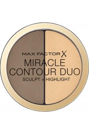 Max Factor Miracle Contour Duo Bronzer Light/Medium 11gr
