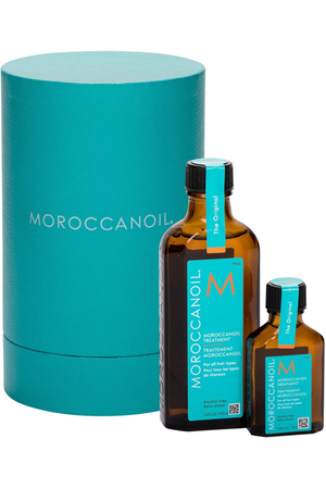 Moroccanoil Treatment Hair Oils and Serum 100ml Combo: Hair Oil 100 Ml + Hair Oil 25 Ml (All Hair Types)