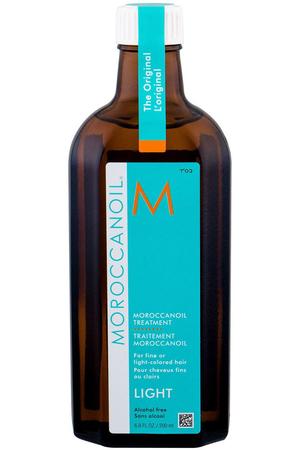 Moroccanoil Treatment Light Hair Oils and Serum 200ml (Blonde Hair - Fine Hair - Grey Hair)