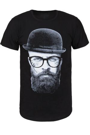 Μαύρο Tshirt Πορτραίτο