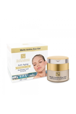 Multi Active Eye Gel Enriched with Hyaluronic Acid and Caviar extract