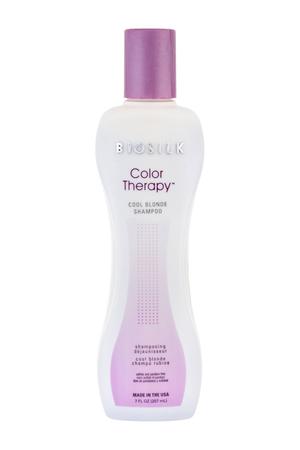 Farouk Systems Biosilk Color Therapy Cool Blonde Shampoo 207ml (Blonde Hair)