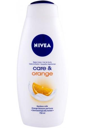 Nivea Care & Orange Shower Gel 750ml