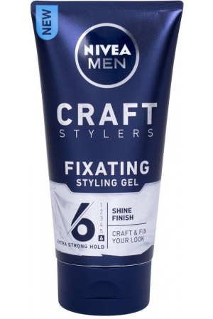 Nivea Men Craft Stylers Fixating Shine Hair Gel 150ml (Extra Strong Fixation)