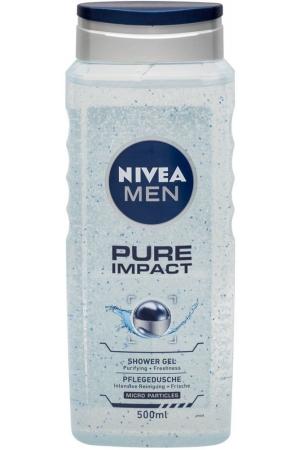 Nivea Men Pure Impact Shower Gel 500ml