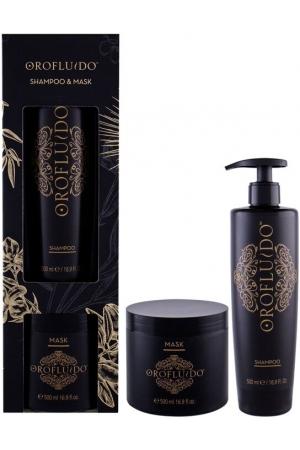 Orofluido Shampoo Beauty Kit Shampoo 500ml Combo: Shampoo 500 Ml + Hair Mask 500 Ml (All Hair Types)