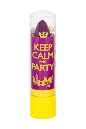 Rimmel London Keep Calm & Party Lip Balm 3,8gr 050 Violet Blush (For All Ages)