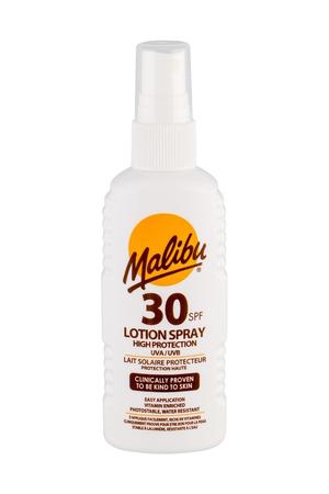 Malibu Lotion Spray Sun Body Lotion 100ml Waterproof Spf30