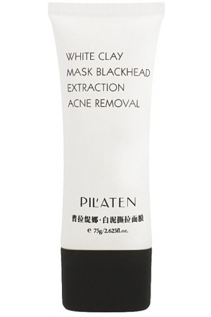 Pilaten White Clay Peel-Off Mask Face Mask 75gr (For All Ages)