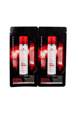 Schwarzkopf Bc Bonacure Repair Rescue Reversilane Hair Oils And Serum 2x4ml (Heat Protection - Weak Hair - Damaged Hair)