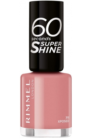 Rimmel London 60 Seconds Super Shine Nail Polish 711 Xposed 8ml