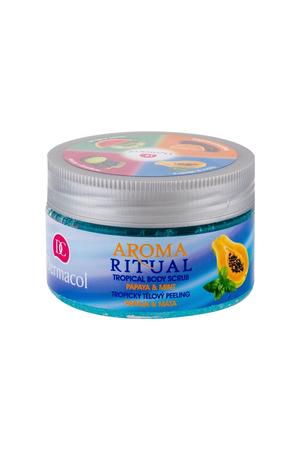 Dermacol Aroma Ritual Papaya Mint Body Peeling 200gr