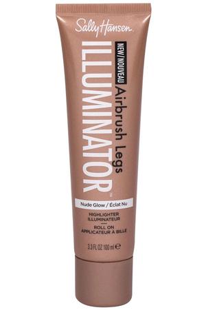 Sally Hansen Airbrush Legs Illuminator Roll On Self Tanning Product Nude Glow 100ml