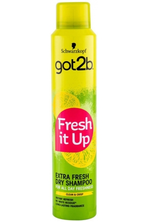 Schwarzkopf Got2b Fresh It Up Extra Fresh Dry Shampoo 200ml (All Hair Types)