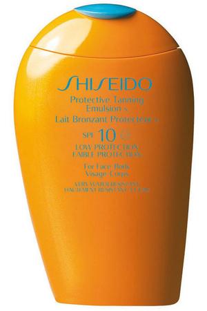 Shiseido Protective Tanning SPF10 Sun Body Lotion 150ml (Waterproof)