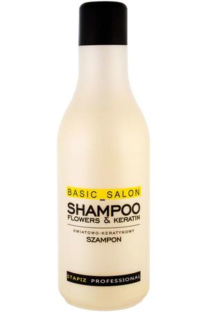 Stapiz Basic Salon Flowers & Keratin Shampoo 1000ml (All Hair Types)