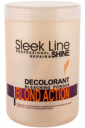 Stapiz Sleek Line Blond Action Hair Color 500ml (Colored Hair - Blonde Hair - All Hair Types)