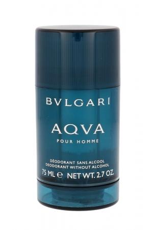 Bvlgari Aqva Pour Homme Deodorant 75ml Aluminum Free - Alcohol Free (Deostick)