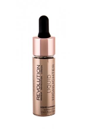 Makeup Revolution Mur Liquid Highlighter Luminous Gold 18ml