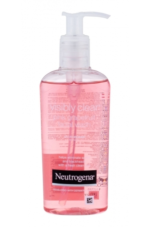 Neutrogena Visibly Clear Pink Grapefruit Cleansing Gel 200ml (All Skin Types)